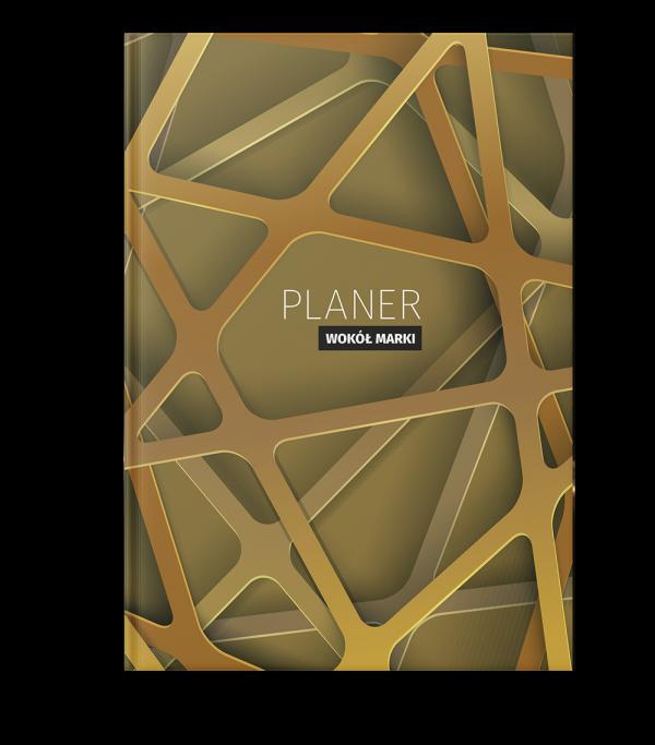 Planer złoty