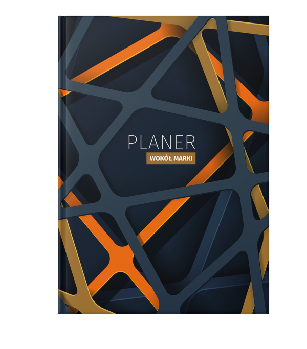 Planer szaro-pomaranczowy